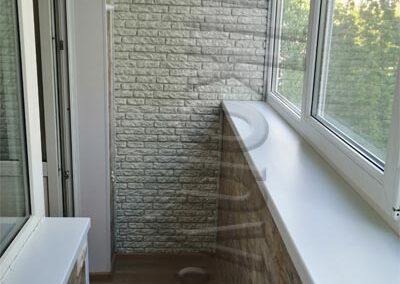 obhivka balkona laminatom2
